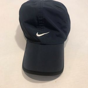 Nike hat navy and white